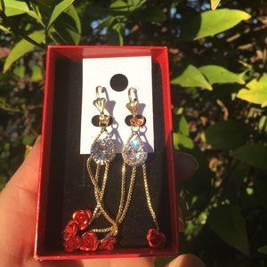 Rose earrings ❤️